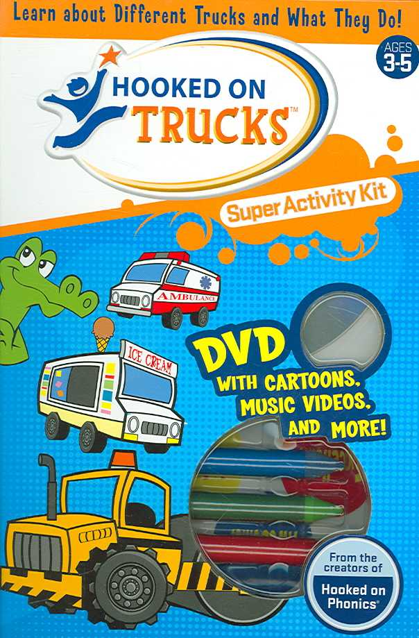 HOOOKED ON TRUCKS SUPER ACTIVITY KIT (DVD)